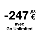 Orange - -300€TVAC avec Go Unlimited