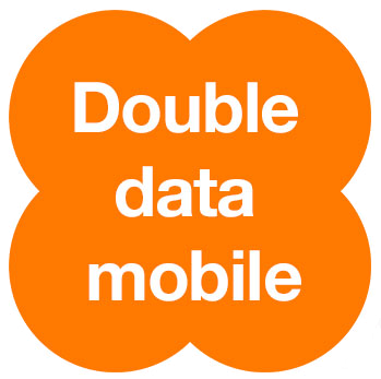 Orange Love - Double Data Mobile