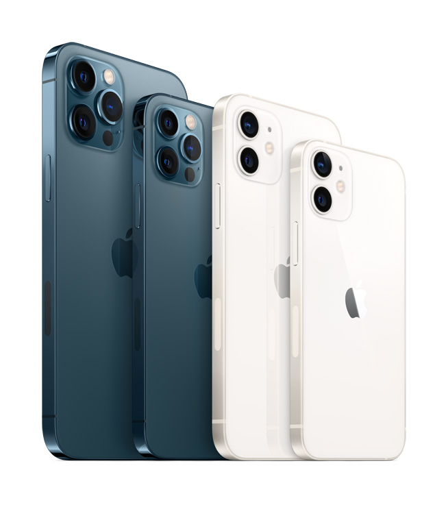 iphone12-family-lineup-blue-white-iPhone12mini-iPhone12-iPhone12 Pro- iPhone12ProMax