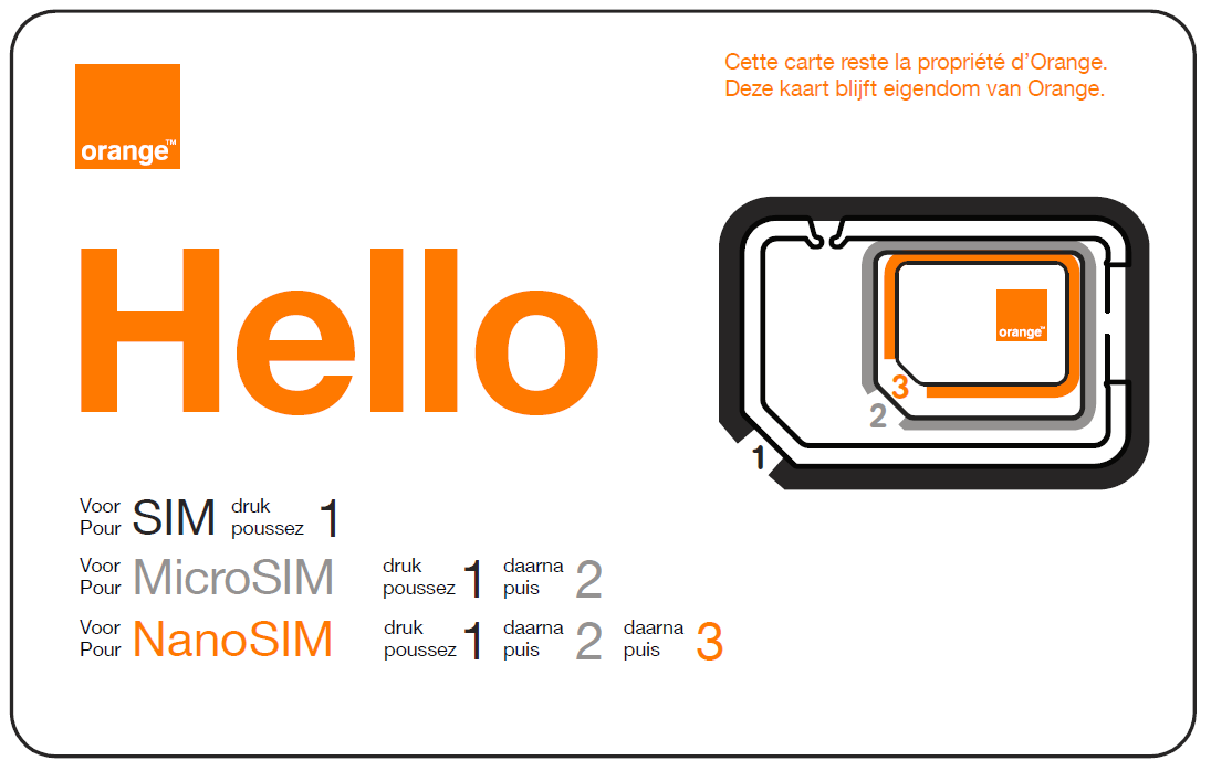 Carte Sim Orange Pour Iphone