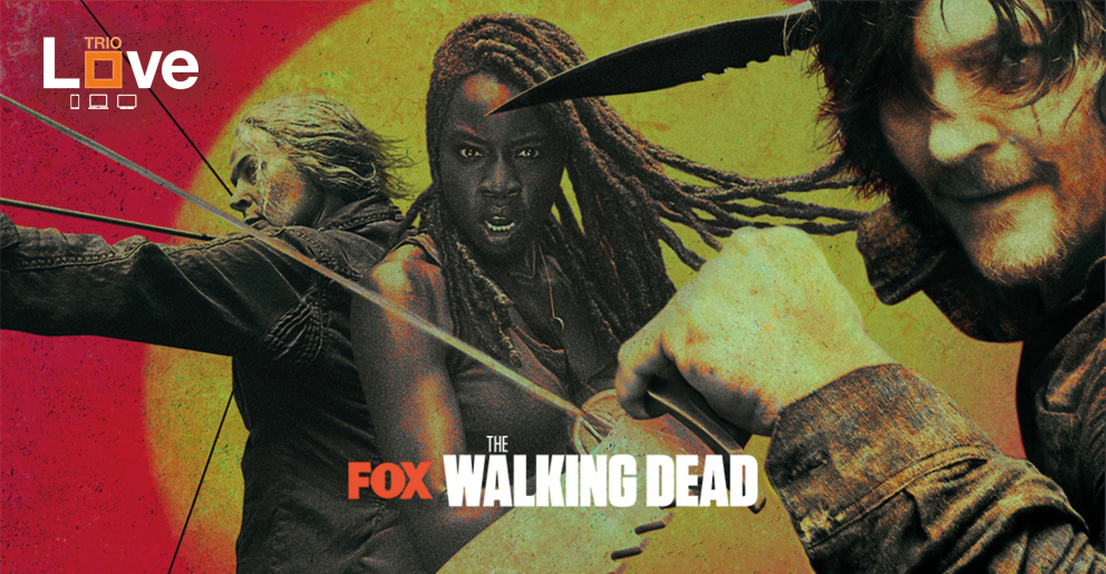 The Walking Dead Seizoen 10 op Fox met Love Trio: Michonne, Daryl en Carol