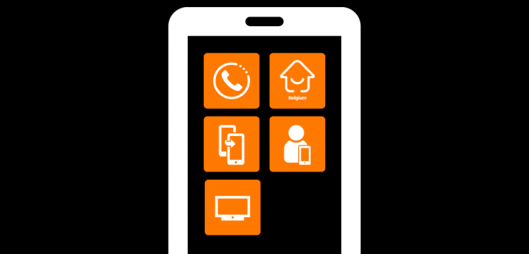 Orange Belgium Apps: Data Transfer, Smart Home, My Orange, Orange TV, Orange Dailer