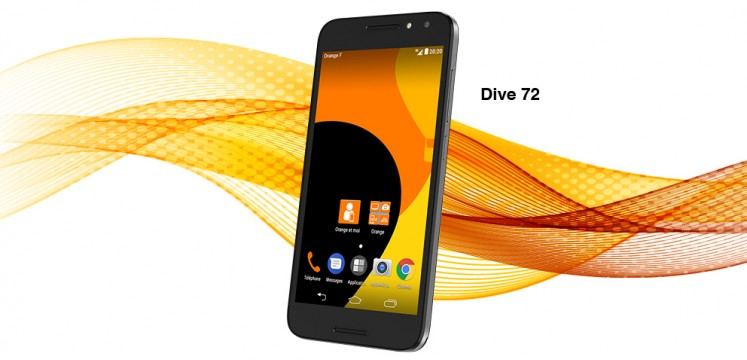 test smartphone, GSM, smartphone, Dive, GSM Orange