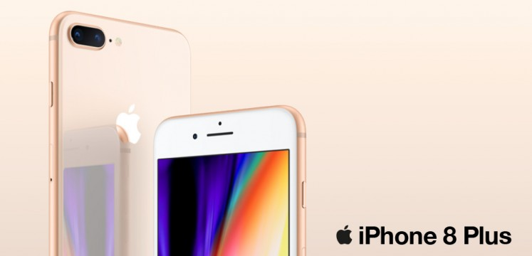 Comparaison iPhone8 et iPhone8Plus