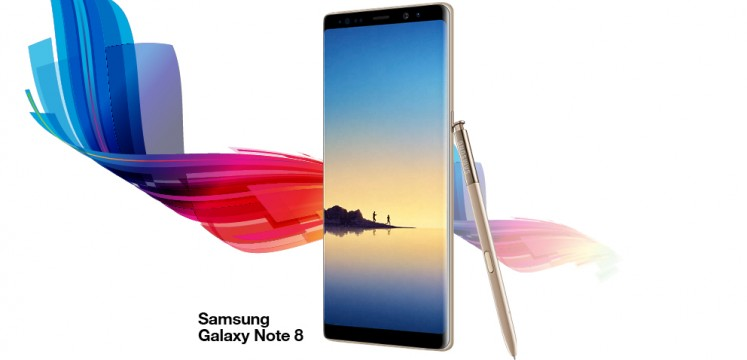 Le Samsung Note 8