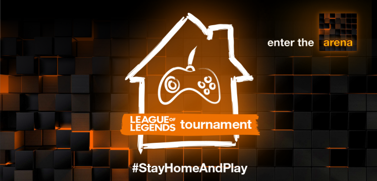 #StayHomeAndPlay: League of Legends Toernooi - enter the arena