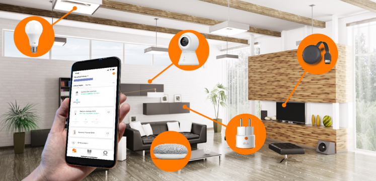 LivingRoom_smart_devices_smart_camera_GoogleNest_Lightbulb_Plug_GoogleChromecast.png