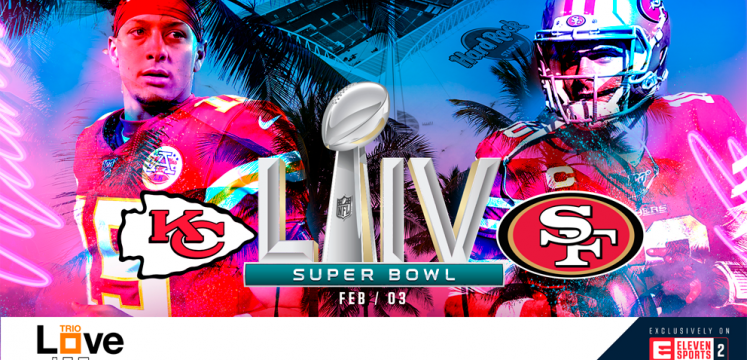 Super Bowl 2020 live. Kansas City Chiefs vs San Francisco 49ers, 3 februari exclusief op Eleven Sports 2, gratis inbegrepen bij Love Trio.
